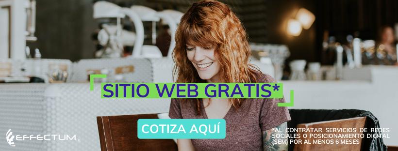 PROMOCION WEB GRATIS